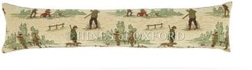 The Country Shoot - Fine Tapestry Draught Excluder - Extra Long