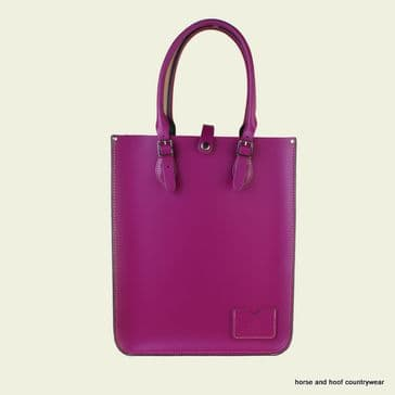 Traditional Hand Crafted British Vintage Leather Tote Bag - Boysinberry