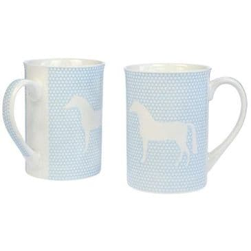 Twin Pack Mugs - Blue