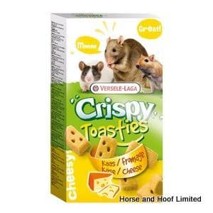 Versele Laga Crispy Toastie Cheese Biscuits For Small Animals 150g