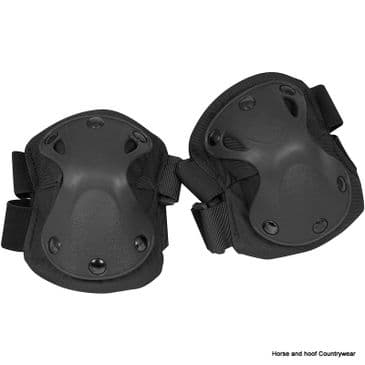 Viper Hard Shell Elbow Pads - Black