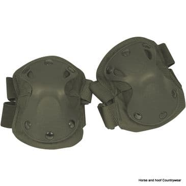 Viper Hard Shell Elbow Pads - Green