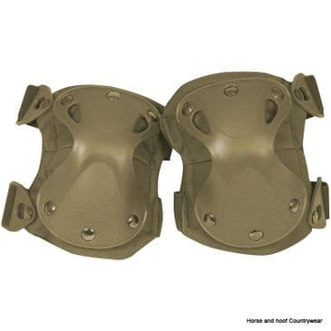 Viper Hard Shell Knee Pads - Coyote
