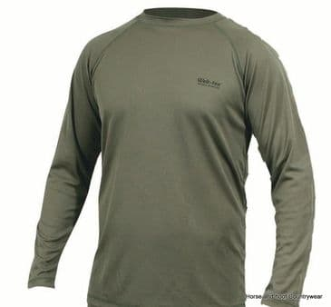 Web-Tex XT Base Layer Long Sleeve Top - Olive Green