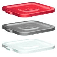 Huskee Squares Push Fit Lid