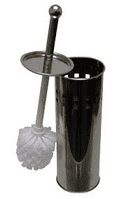 Toilet Brush and Stainless Steel Holder