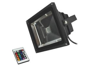 50W LED Floodlight|RGB Remote control | IP65 Waterproof | 500 Watt Equivalent