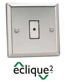 Touch |Remote Control  LED Dimmer Switch | Chrome |Varilight Eclique2