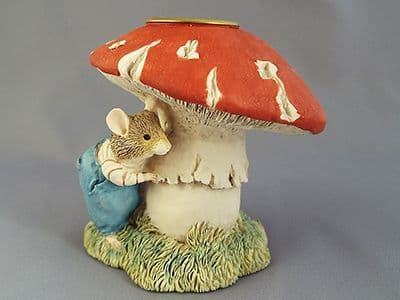 Classic Collectables - Wilfred and Mushroom Candlestick