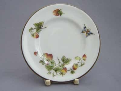 Coalport Strawberry Plate