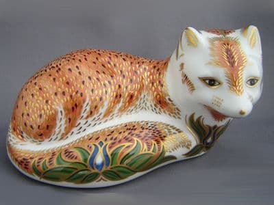 Crown Derby Leicestershire Fox