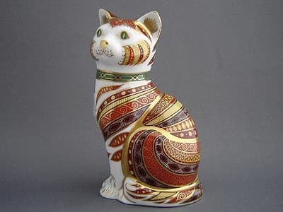 Crown Derby Marmaduke the Cat
