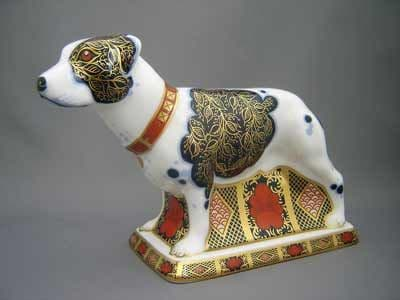 Crown Derby Staffordshire Bull Terrier (LE 350)