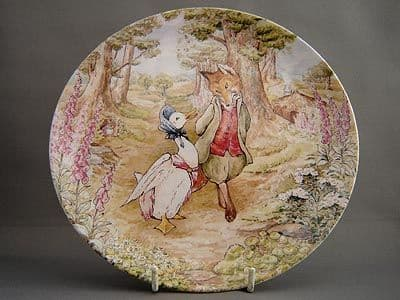 Jemima Puddle-duck Plate