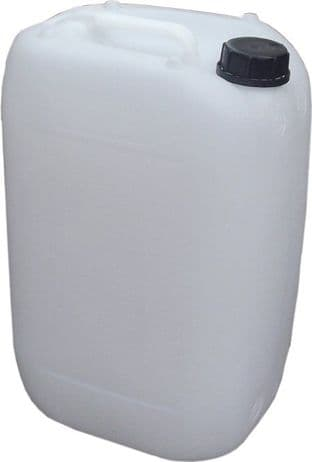 25 LITRE HDPE JERRY CONTAINER DRUM