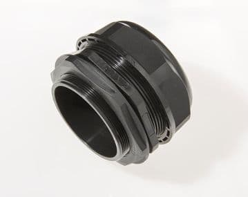 NCG-M90A-77 BLACK - M90 x 2 Cable Gland, IP68, 66-77mm, UL Nylon 66