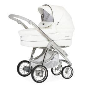 Bebecar Pack Ip-Op Classic XL 3 In 1 Travel System Pram - White Delight