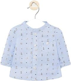 Mayoral baby boys shirt with dog print (style 1143)