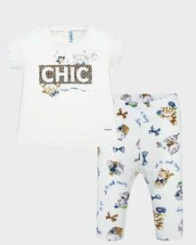 Mayoral baby girls cat leggings set (1705)