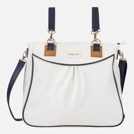 Mayoral Off White & Navy  Maternity/Changing Bag - 19687