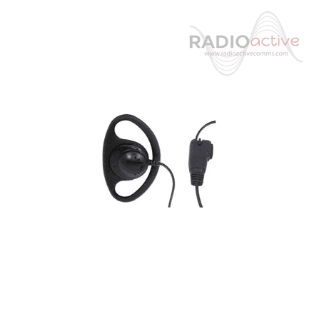 Icom D Shaped Earpiece with inline microphone