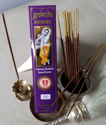 Golden Champa Incense Sticks - 20 grams