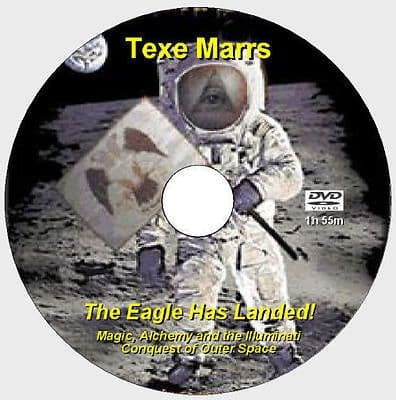 """The Eagle Has Landed!""""Magic, Alchemy, Outer Space - Texe Marrs [DVD -1h55m]"""