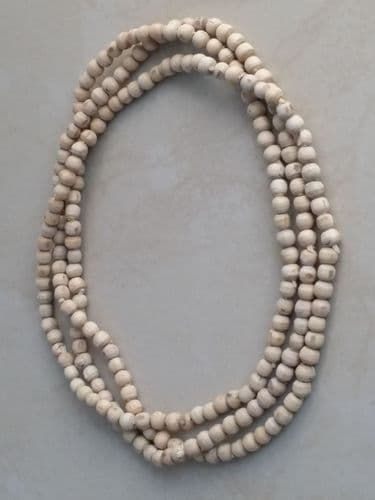 Tulsi Neck Beads - [Large Size 3mm - Three loops around the neck]