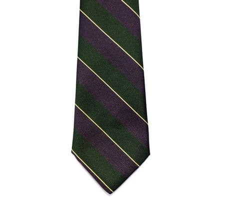 The Argyll & Sutherland Regimental colours stripped tie available off the shelf ready for dispatch.