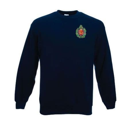 Argylls | The Argyll and Sutherland Highlanders | regimental sweatshirt with embroidered cap badge available for only £21.99