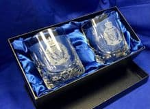 Crystal Cut Whisky Glass Set - All units
