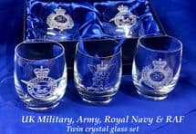 Crystal Glass Whisky Set  - All units