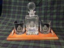 Cut Glass Decanter Set - All units