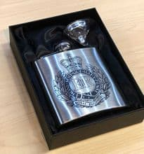 Engraved Hip Flasks - from