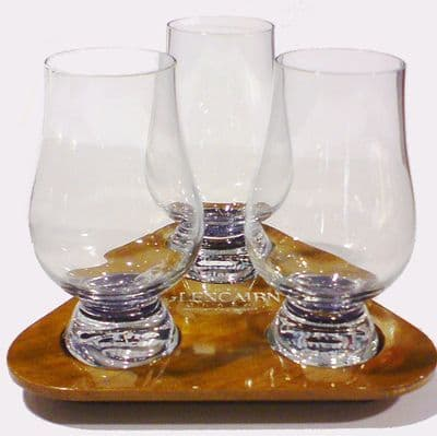 UK Military engraved whisky glass tumbler with Army regiment cap badges, Royal Navy and RAF crests.