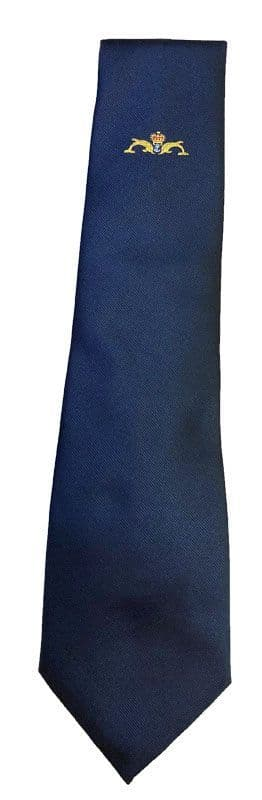 Royal Navy - HM Submariners service tie with dolphins motif.