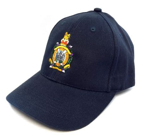 Kings Own Scottish Borderers | KOSB baseball cap/hat with embroidered cap badge.