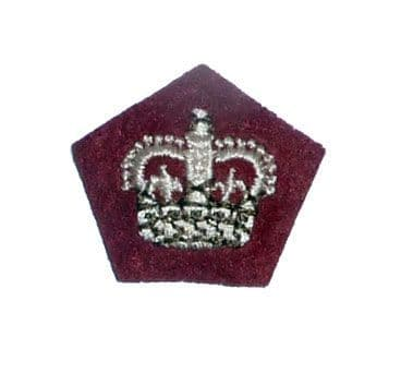 The Royal Regiment of Scotland - Officers Scarlet Worsted Rank Pips Stars