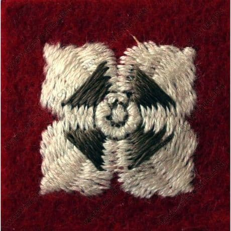 The Royal Regiment of Scotland - Official Officers Worsted Rank Pips Stars