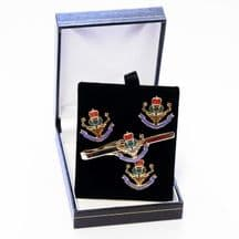 Q. O. Highlanders - Cufflinks, Tie Slide or Boxed Set from