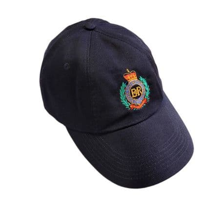 Royal Engineers Baseball Cap | Cotton baseball cap featuring the cap badge of the Royal Engineers