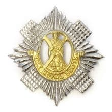 Royal Scots - Cap badge