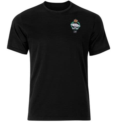 Royal Tank Regiment military t-shirt with battalion number available. Free UK delivery.