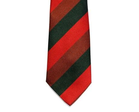 The Royal Tank Regiment striped Regimental Tie for the Tank Regiment. Only £15.99
