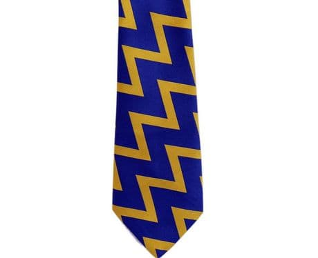 The Royal Scots Dragoon Guards regimental colours stripped tie, premium quality Scots DG polyester tie for only £15.99.