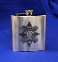 The Black Watch - Pewter hip flask