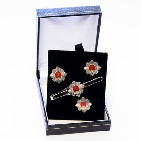 The Royal Scots - Cufflinks, Tie Slide or Boxed Set from