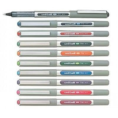 4 x UNI-BALL EYE ROLLERBALL PEN UB-157 Wide Range of Colours Available