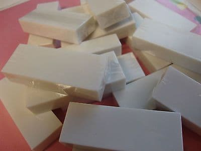 10 x OMG LARGE JUMBO WHITE VINYL PLASTIC RUBBER ERASERS