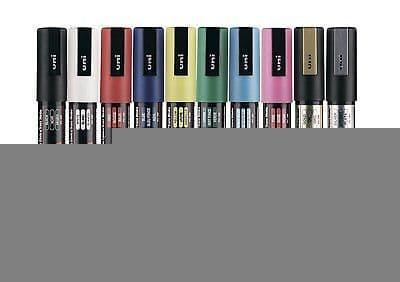 """10 x UNI POSCA MARKER PEN PC-5M """"10 Pen Set of the Best Selling Colours"""""""